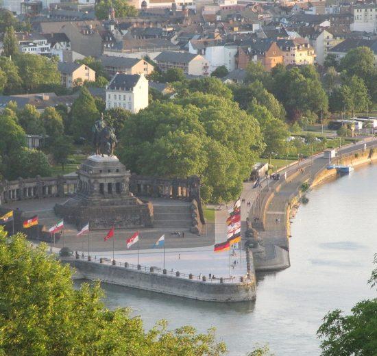Deutsche Eck Koblenz Moezel