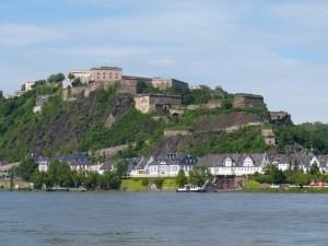 Koblenz Moezel Rijn