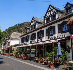 Moselhotel Burg Cafe Alken Moezel