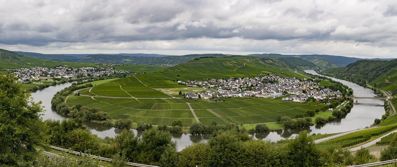 Leiwen Trittenheim aan de Moezel