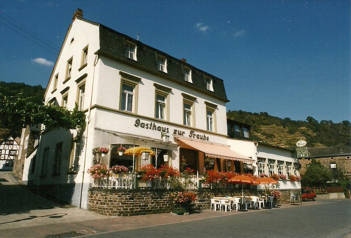 Hotel Gasthaus zur Traube Hatzenport Moezel