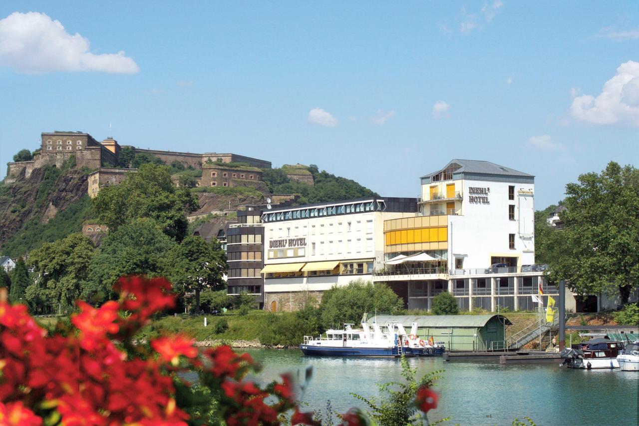 Diehls Hotel Koblenz Moezel Rijn